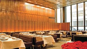 The Grill Room at the Four Seasons