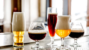 Belga pours a large slection of Belgian and Belgian-inspired brews.