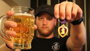 Sgt. Jason Duren, co-owner of Cider Corps