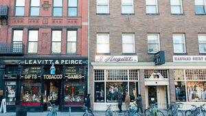 Harvard Square is home to bookstores galore