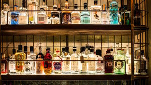 Holborn Dining Room gin collection in London