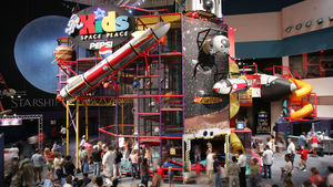 Kids Space Place at Space Center Houston