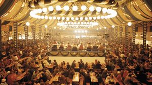 Oktoberfest Grounds at Theresienwise