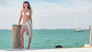 Sea Lily cover-up