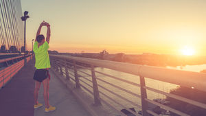 Apps provide running routes for travelers