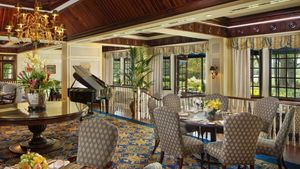 Brunch in the Washington Duke Fairview Dining Room offers an atmosphere that rivals the menu.