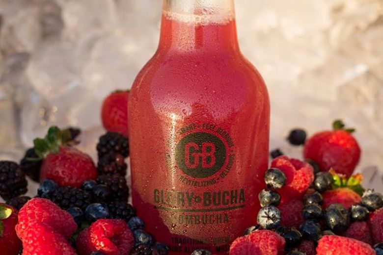 Glory Bucha with Berries