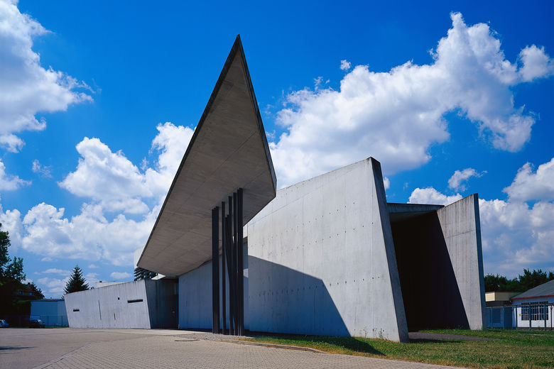 Germany's Vitra Fire Station
