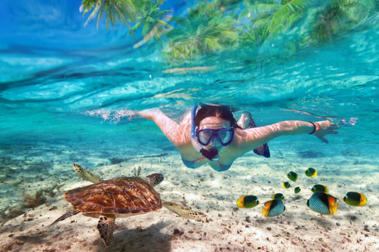Snorkeling and scuba diving is a must-do in the Maldives