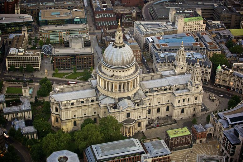 Christopher Wren's St. Paul's Cathedral